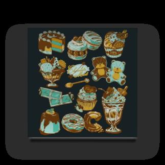 レモネードプールのチョコミント Acrylic Block