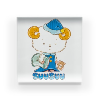 Suusuu(スースー) Acrylic Block