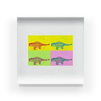 そらいろ/空彩のサイカニヤ ニヤ Acrylic Block