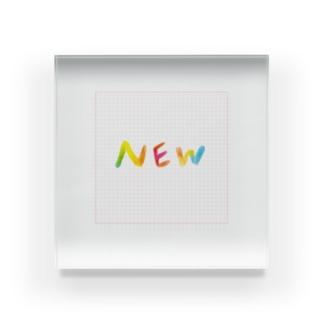 NEWグッズです Acrylic Block