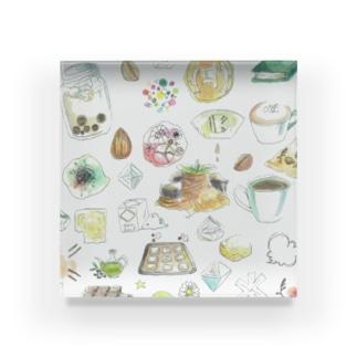 CAFE Kiitos feat.Mika Itoh Acrylic Block