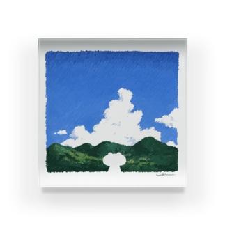 夏の映像 Acrylic Block