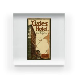 Advertisement, Gates Hotel, Los Angeles [cover] Acrylic Block