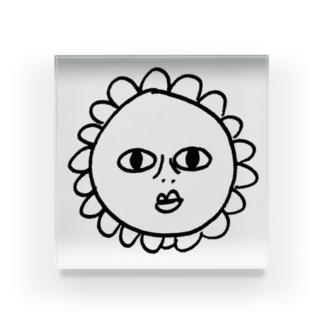 ひまわり Acrylic Block