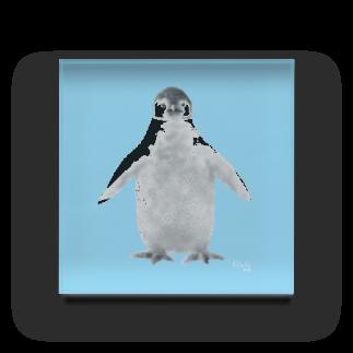 atelier*zephyr(Hisako)のペンギンの赤ちゃん Acrylic Block