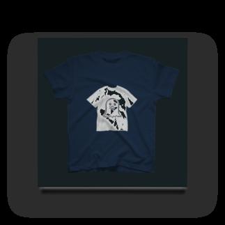 ずぅんのスズリで作ったTシャツで作ったTシャツで作った Acrylic Block