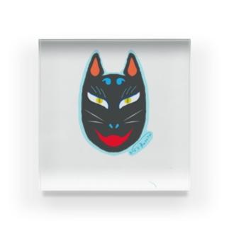 狐面 Acrylic Block