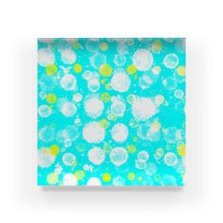 Lemon squash Acrylic Block