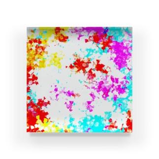 Coral reef Acrylic Block