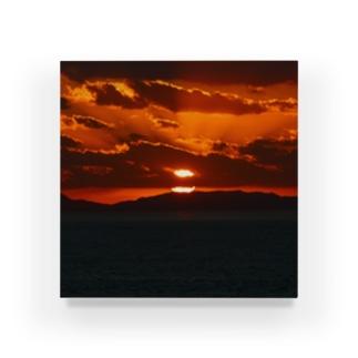 SUNSET Acrylic Block
