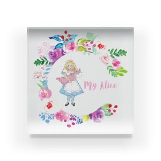 My Alice Acrylic Block