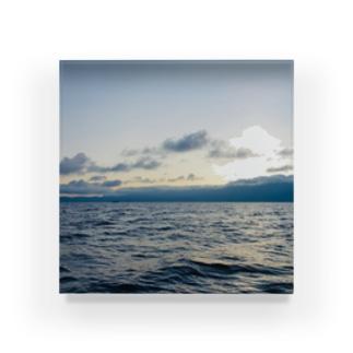 漁師の朝 Acrylic Block