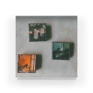 a pic sachet 1 Acrylic Block