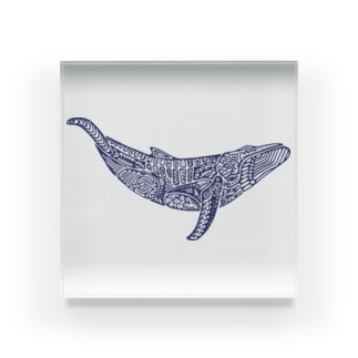座頭鯨 Acrylic Block