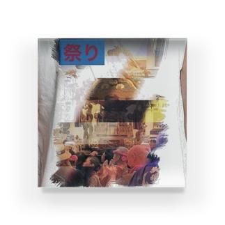 神輿その1 Acrylic Block