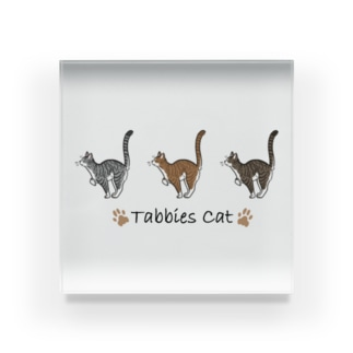Tabbies Cat(マッカレル) Acrylic Block