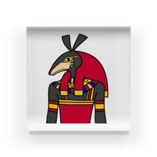 くまミイラ工房の【古代エジプト神】セト神 Acrylic Block