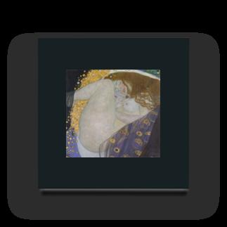 Art Baseのダナエ / グスタフ・クリムト ( Danae / Gustav Klimt 1908 ) Acrylic Block