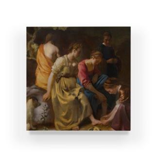 ディアナとニンフたち / フェルメール(Diana and her Companions 1654) Acrylic Block