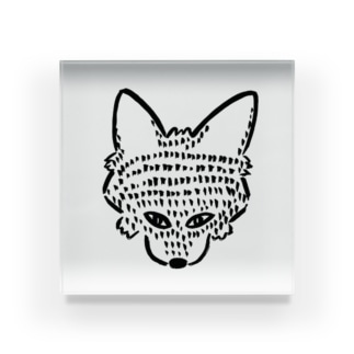 オオカミちゃん Acrylic Block