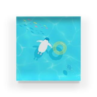 ぷかぷかペンギン Acrylic Block