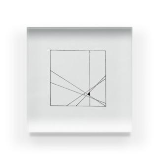 diagonal Acrylic Block