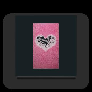 Teatime ティータイムのハート Heart ピンク pink Acrylic Block