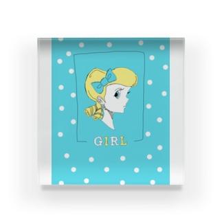 girl_color Acrylic Block