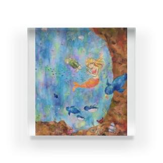 宇宙水族館 Acrylic Block
