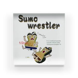鹿ケ谷かぼちゃ【Sumo wrestler】 Acrylic Block