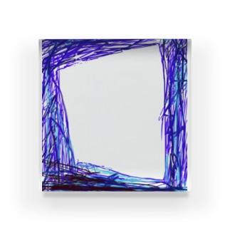 反動 Acrylic Block