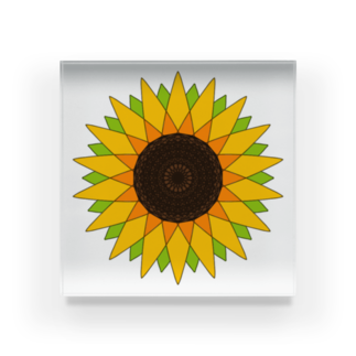 MSBの向日葵🌻 Acrylic Block