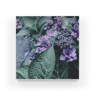梅雨の花 Acrylic Block