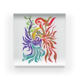 zen. Acrylic Block