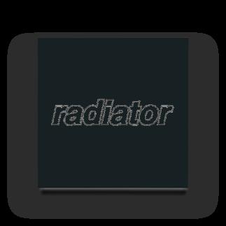 radiator18のlong life coolant Acrylic Block
