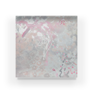 arinko115のスズラン Acrylic Block