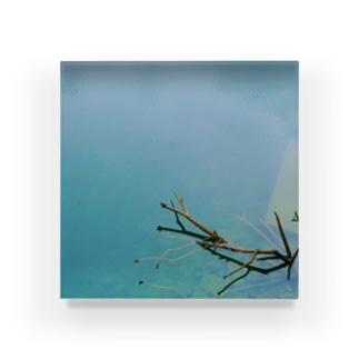 water Acrylic Block