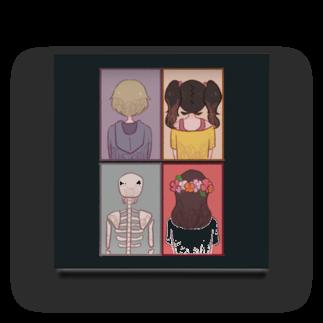 Cocohashop*の背中 Acrylic Block