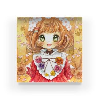 三月の童話 Acrylic Block