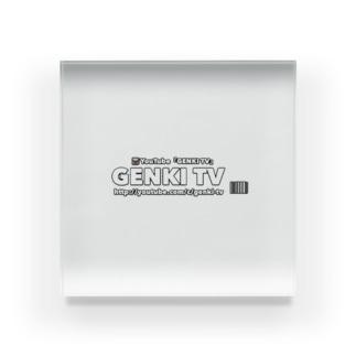 『GENKI TV』グッズ💕 Acrylic Block