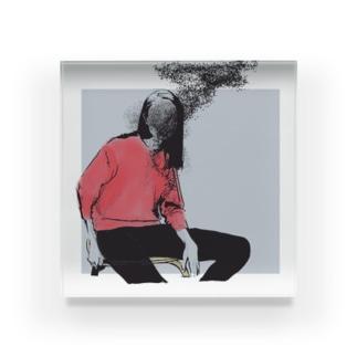 感情 Acrylic Block