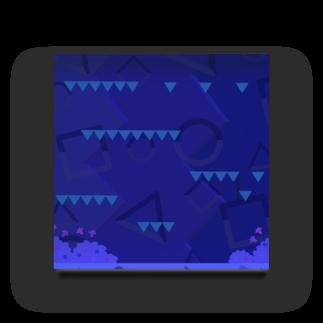 papipupepopooの陸ステージ Acrylic Block