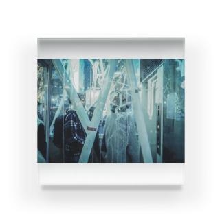 arineko_color 街×日常 Acrylic Block