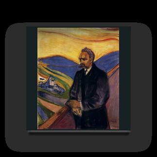 Art Baseのムンク / Friedrich Nietzsche / Edvard Munch / 1906 Acrylic Block