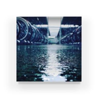 雨 Acrylic Block
