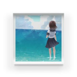 異郷へ Acrylic Block