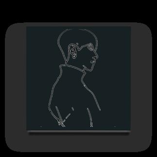 AileeeのBoy.4 Acrylic Block