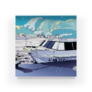 夏行きの船 Acrylic Block