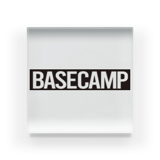 BASE-CAMPのBASE CAMP BLACK Acrylic Block