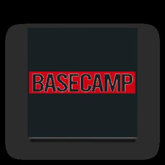 BASE-CAMPのBASE CAMP RED Acrylic Block